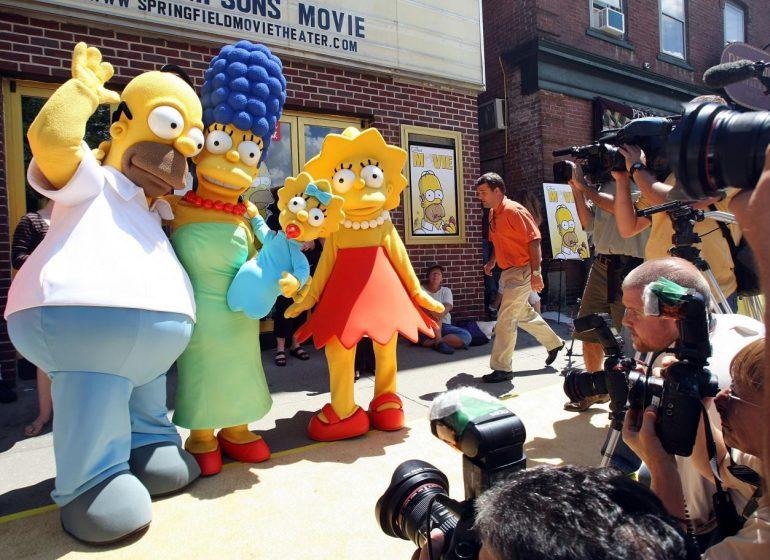حذف مایکل جکسون از کارتون محبوب سیمپسونها