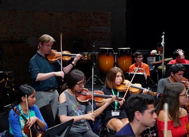 ارکستر فیلارمونیک وین؛ کارگاهی ممتاز برای نوازندگان جوانِ پِرو