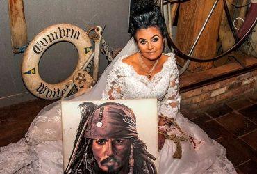 سرانجام ازدواج یک زن با روح جانی دپ دزد دریایی
